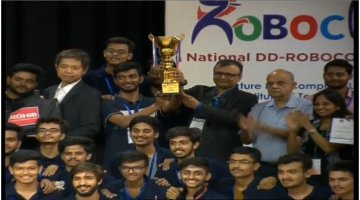 Team Robocon of LDCE won the Robocon India 2019 at National level and will represent India in this competition at international level at Mongolia