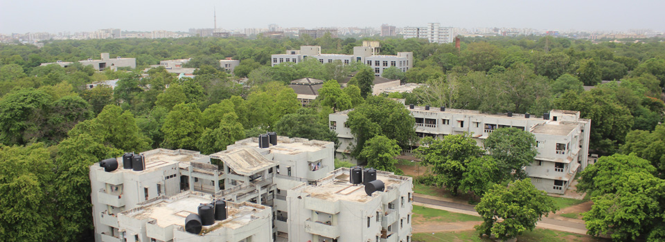 LDCE Boy's Hostel Block No: E and F - Top View