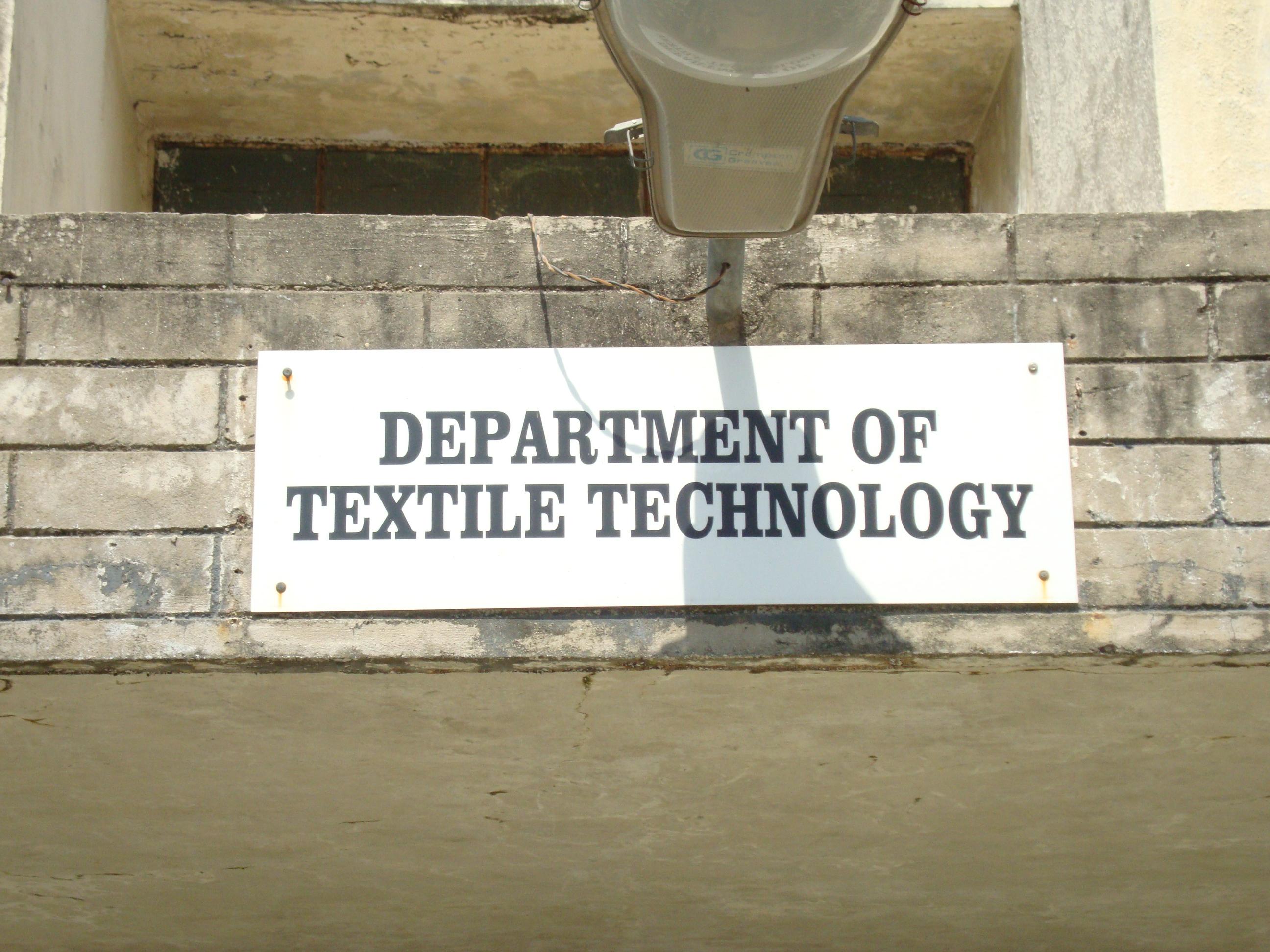 Textile Technology Departments L D College Of