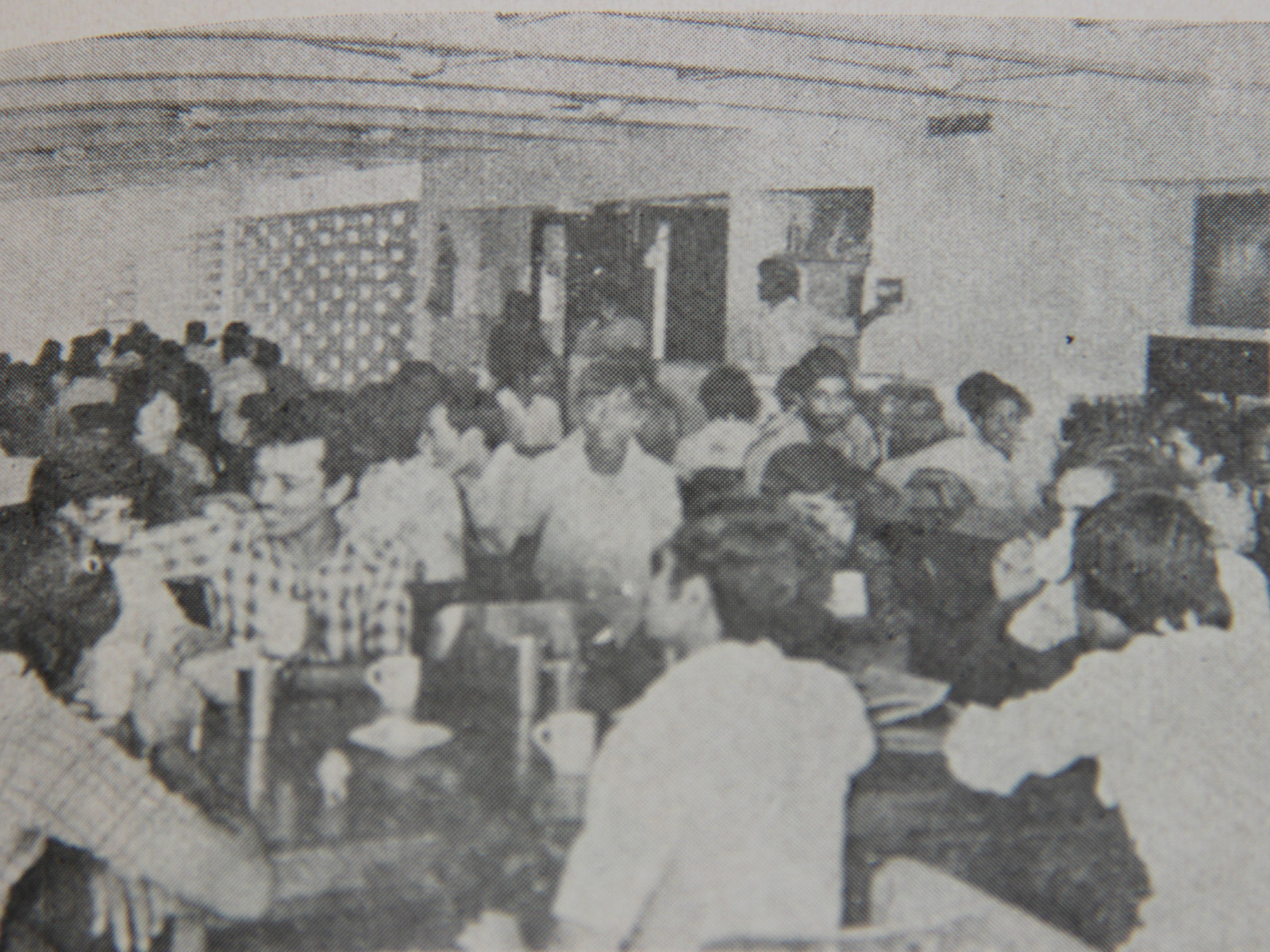 LDCE Canteen in early days