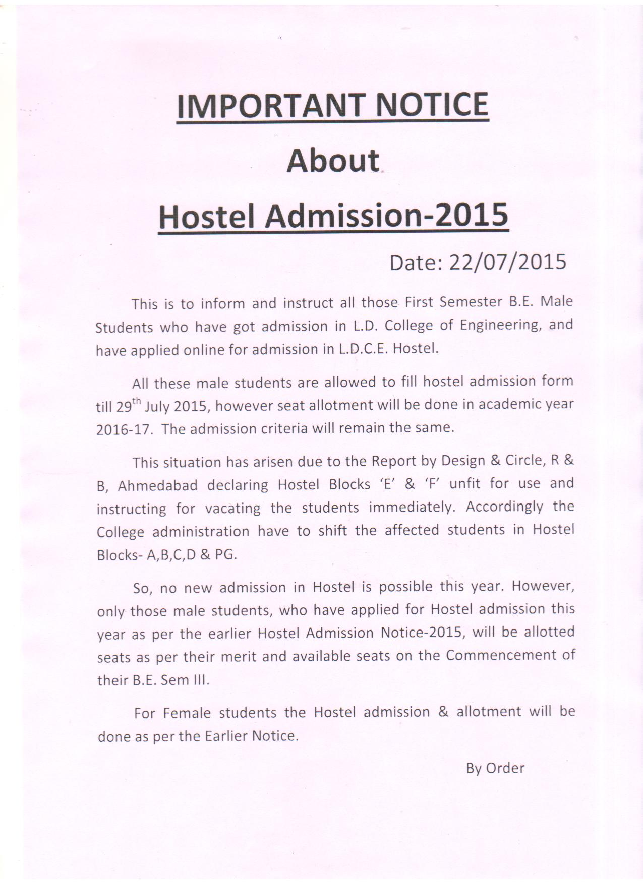 L  D  College of Engineering